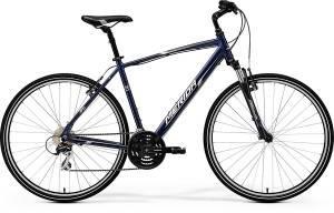 Велосипед Merida Crossway 20V Dark Blue/Silver/White (2017)