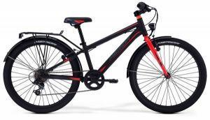 Велосипед Merida Dino J24 Matt Black(Red) 2018