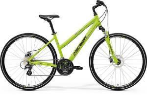 Велосипед Merida Crossway 15MD LADY  Matt Green/Grey/Black (2017)