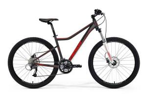 Велосипед Merida Juliet 6.40D Matt Black/Signal Red (2016)