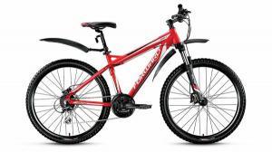 """Велосипед 26"""" Forward Quardo 3.0 Disc Красный Матовый 15-16 г"""