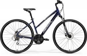 Велосипед Merida Crossway 20D LADY Dark Blue/Silver/White (2017)