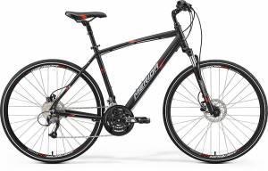Велосипед Merida Crossway 40D Matt Black/Red/Grey (2017)