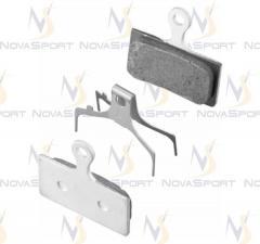Тормозные колодки Shimano д/диск тормоза  G01A с пружин с шплинтом Y8J79803A