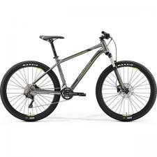 Велосипед Merida Big Seven 300 SilkAnthracite/Green (Black) 2019