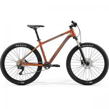 Велосипед Merida Big Seven 400 GlossyCopper/DarkBrown (Blue) 2019