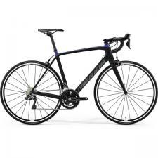Велосипед Merida SCULTURA 7000-E MattBlack GlossyBlue (Silver) 2019