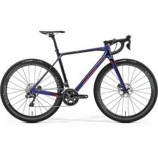 Велосипед Merida Mission СХ8000E Blue (Red) 2019