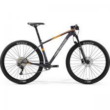Велосипед Merida Big Nine 3000 MattDark (Silver/Orange) 2019