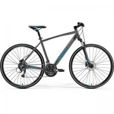 Велосипед Merida Crossway 40-D DarkSilver (Blue) 2019