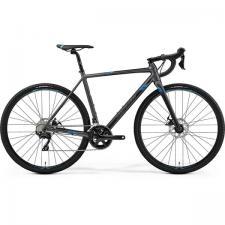 Велосипед Merida Mission СХ400 MattSilver (Blue) 2019