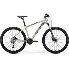 Велосипед Merida Big Seven 80-D MattTitan/Black (Silver) 2019
