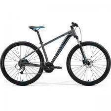 Велосипед Merida Big Nine 40-D Matt Dark Silver (Blue/Black) 2019