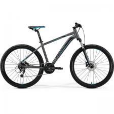 Велосипед Merida Big Seven 40-D MattDarkSilver/Blue (Black) 2019