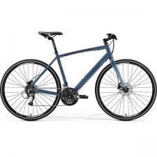 Велосипед Merida Crossway Urban 40-D MattSteelBlue (Red) 2019