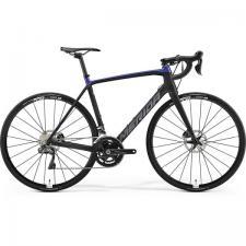 Велосипед Merida SCULTURA Disc 7000-E MattBlack GlossyBlue (Silver) 2019