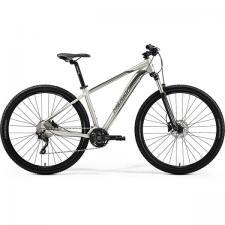 Велосипед Merida Big Nine 80-D MattTitan (Black/Silver) 2019